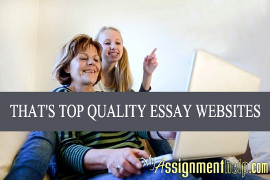 Top Quality Essay Writing Help