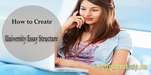 university essay structure