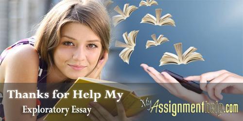 exploratory essay help